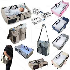 all in one magical baby travel bed carry cot and baby bag