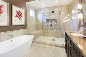Beige Tile Bathroom Ideas - beige tile floor with beige tile shower floor bathroom traditional