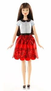 barbie fashionistas doll 19 ruby red floral original dgy61