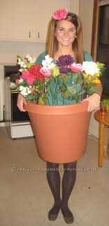 30 coolest diy flower pot and flower costumes