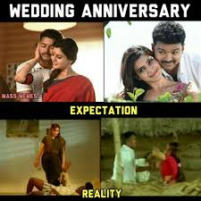 Happy Anniversary Meme - happy wedding anniversary just for tamil meme templates 2 0