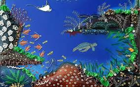 coral reef 3 prisca goldoni u0027s painting art with zip