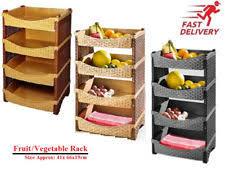 fruit and vegetable baskets vegetable rack food kitchen storage ebay