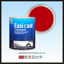 china easicoat deep red 2k solid color paint for car repair photos