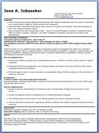 Free Administrative Assistant Resume Templates Administrative Assistant Resume Template For Download Free