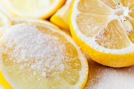 odeur de cuisine citron sel odeur eliminer cuisine parfumer desinfecter deodorant