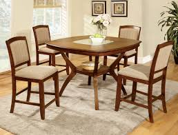 glass counter height table sets provo oak glass counter height table set counter table 4 chairs