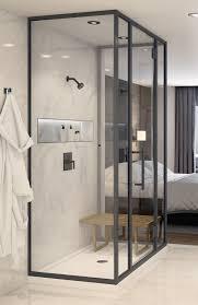 Black Shower Door Matte Black Finish Symmons Industries Inc