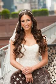 hairstyles with veil for brides having long hairs hairzstyle com