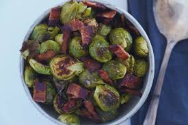 thanksgiving brussel sprouts bacon bacon roasted brussels sprouts eat some wear some