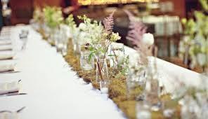 table runners wedding moss table runners weddingbee