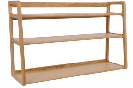 wall shelf designs 15 best ideas of oak wall shelving units