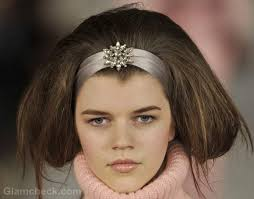 vintage hair oscar de la renta fall winter 2012 vintage hair accessories