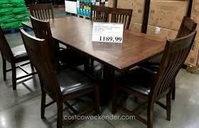 costco dining room set dining sets costco stunning design