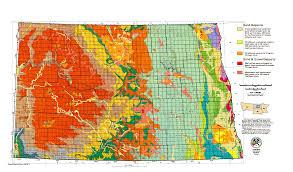 North Dakota Time Zone Map by North Dakota Topographic Map Topographic Map
