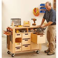 Woodworking Plans Garage Storage Cabinets by Wheel Easy Shop In A Box Woodworking Plan Workshop U0026 Jigs Shop