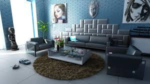 Wohnzimmer Dekoration T Kis Wohnzimmer Deko Blau Haus Design Ideen Blau Und Weiß Wohnzimmer