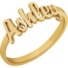 gold name ring best 14k gold name ring products on wanelo