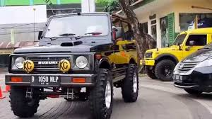 suzuki jimny sj410 jimny modis indonesia 7th gathering di warung solo kemang youtube