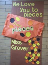 Funny Christmas Office Door Decorating Ideas by Teacher Appreciation Week We Love You To Pieces Another