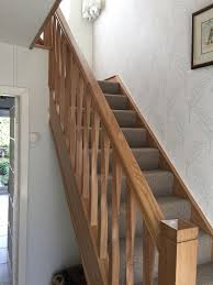 Oak Banisters And Handrails Renovate Your Staircase Oak Staircase Renovation