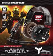target doom black friday amazon com thrustmaster y 300cpx doom edition universal usb audio