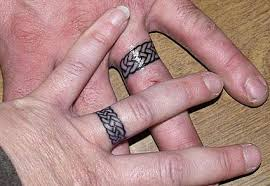 ring marriage finger wedding ring tattoos lovetoknow