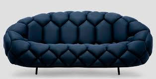 canap bouroullec contemporary sofa fabric powder coated steel by ronan erwan