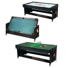 3 in one foosball table multi game tables combination games combo games air hockey