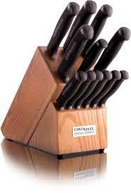kitchen knife sets center cold steel ksset piece kitchen classic block set stainless blades kray