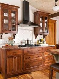 honey maple kitchen cabinets with natural maple island coffee