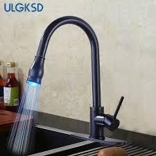 armaturen k che ulgksd küchenarmatur led herausziehen sprayer waschbecken