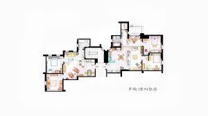 Apartment Floor Plans Designs Design Interior Apartments Friends Tv Series Floor Plans
