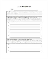 11 monthly sales plan templates sample example format
