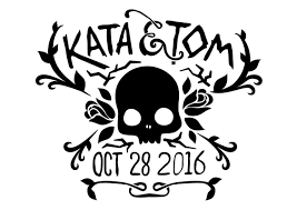 halloween wedding save the date spencer coons visual designer seattle wa