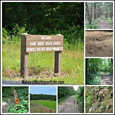 Green Ridge State Forest Camping Map by Hiking Sand Ridge State Forest U2013 Midwest Basecamp