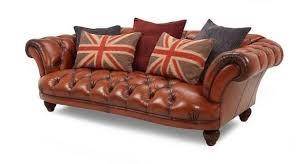 Dfs Chesterfield Sofa Stunning Dfs Tetrad Oskar Leather Chesterfield Sofa In Paisley