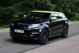 range rover black range rover evoque special edition coupe review auto express