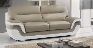 canapé design cuir pas cher attrayant canape cuir pas cher moderne canape cuir idées de