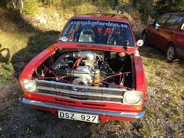 kadett opel opel kadett caravan with a supercharged chevy v8 engineswapdepot com