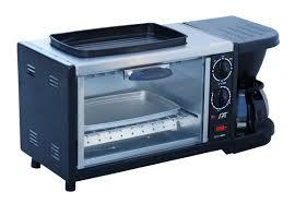 Vintage Toaster Oven Bm 1118 Stainless Steel 3 In 1 Breakfast Maker