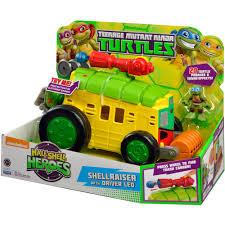 teenage mutant ninja turtles home decor teenage mutant ninja turtles shellraiser with leo figure walmart com