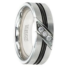 Mens Black Wedding Rings by Men U0027s Black Tungsten Wedding Rings Black Wedding Bands