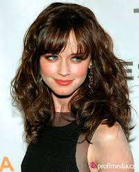 tag hairstyles bangs wavy hair hairstyles and haircuts