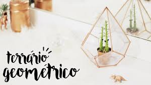 Diy by Diy Terrário Geométrico Urban Outfitters Inspired Youtube
