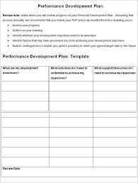 personal learning plan template 100 images pdp templates sle