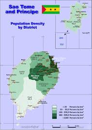 map of sao tome sao tome principe country data links and maps of the population