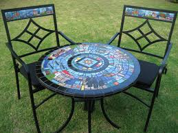 Mosaic Bistro Table Mosaic Bistro Table Bonners Furniture