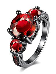 classic dolphin ring holder images Rings red 7 vintage artificial gemstone ring gamiss jpg
