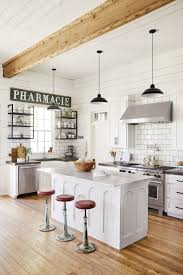joanna gaines farmhouse kitchen with cabinets joanna gaines opens the door to dreamy family farmhouse